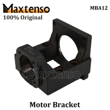 цена на MAXTENSO Professional Motor Bracket ballscrew motor housing MBA12 for stepper motor NEMA23 NEMA34 Premium Mounting