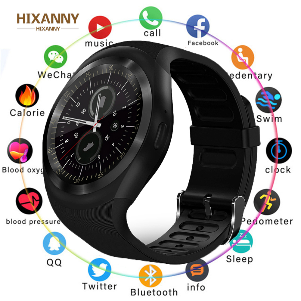 New Smart Watchs Round Support Nano SIM &TF Card With Whatsapp And Facebook Men Women Business Smartwatch For Android Phone