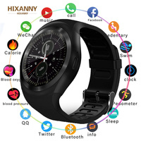 New Smart Watchs Round Support Nano SIM &TF Card with Whatsapp and Facebook Men Women Business Smartwatch for Android Phone|Smart Watches| |  -