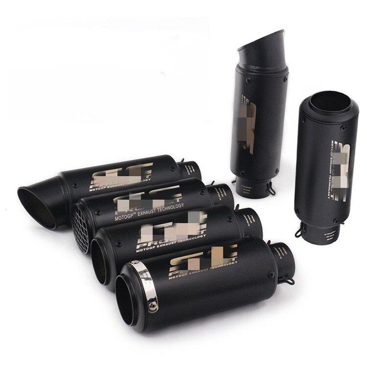 Выхлопная труба для мотогонок, выхлопная труба 51 мм/60 мм для CBR1000 Yamaha R6 FZ6 Z900 SC Project для мотокросса