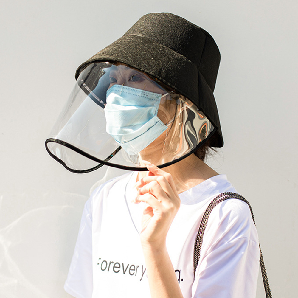 SFIT Anti-spitting Powder Wind Sand Mask Anti-UV Multi-function Protective Cap Dustproof Protective Hat Eye Protection Windproof