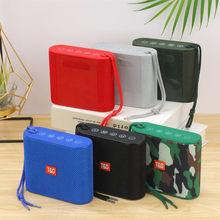 Portable Bluetooth Speaker Music Center Subwoofer BoomBox Mini Wireless Column 3DStereo USB Speakers for Phones with TF FM