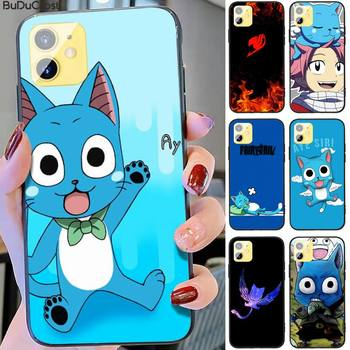 Riccu Happy Felice Fairy Tail Phone Case For iphone 11 12 Mini Pro Max X XS MAX 6 6s 7 8 Plus 5 5S 5SE XR SE2020 image