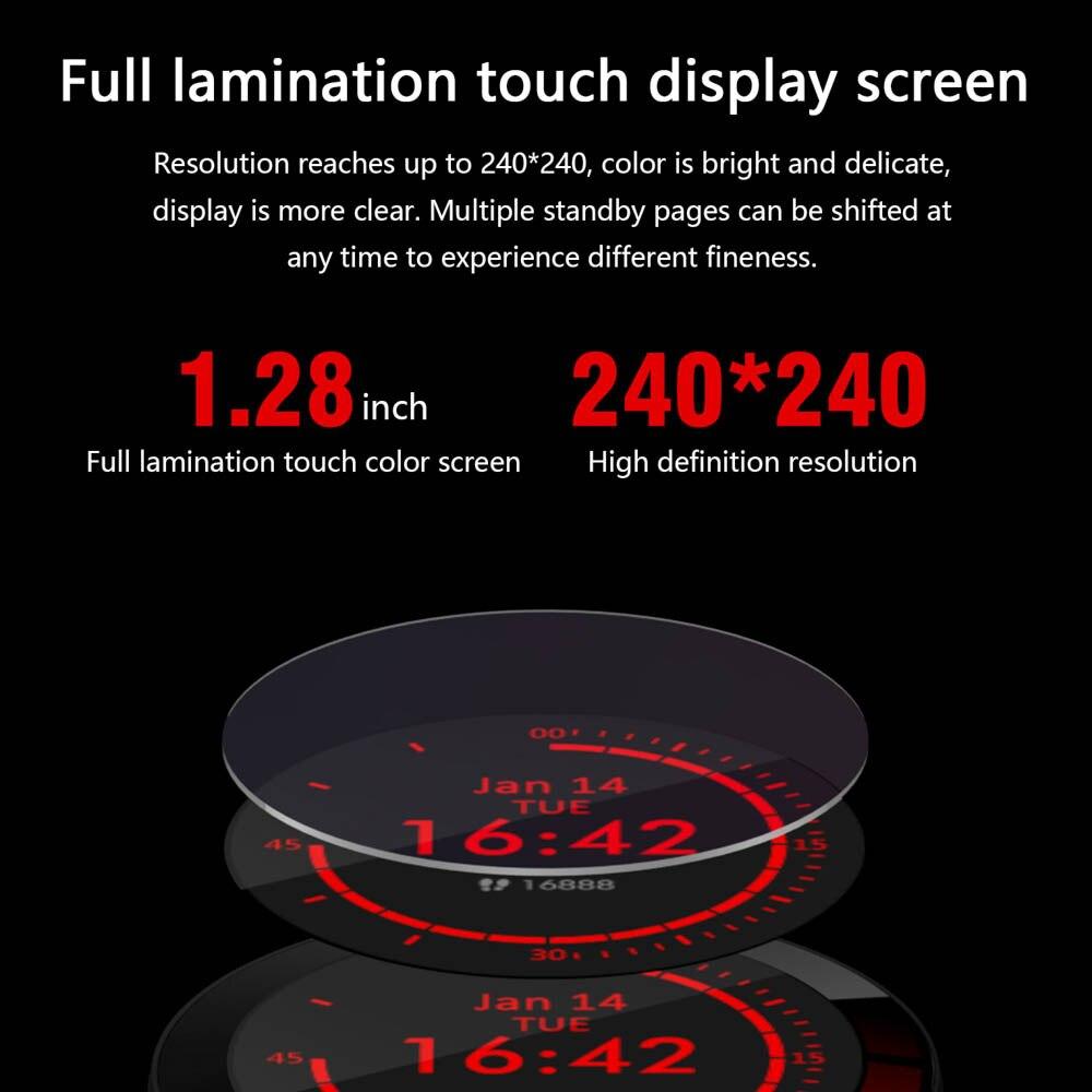 E3 Smart Watch men Waterproof IP68 Weather display Smartwatch Sports Watch Heart rate blood pressure blood oxygen health tracker (black)
