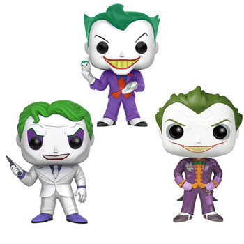 Original Funko pop Batman The Joker Vinyl POP toys Action & Toy Figures Collectible Model Toy for Children funko pop back to the future 2 marty mcfly dr emmett brown vinyl dolls action figure collectible model toys for child with box