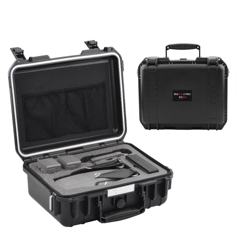 New Travel Carrying Case Portable Waterproof Storage Bag With Propellers For DJI Mavic 2 Pro/DJI Mavic 2 Zoom Drone Accessories
