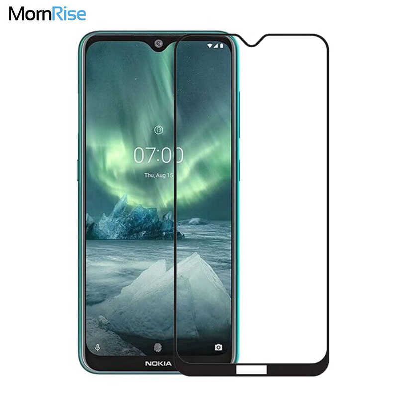 Tempered Glass Film For <font><b>Nokia</b></font> <font><b>7.2</b></font> 6.2 6.1 5 5.1 Glass <font><b>Screen</b></font> <font><b>Protector</b></font> Full protective Glass On For <font><b>Nokia</b></font> 3.1 7 Plus Saver 9H image