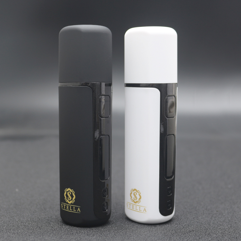 Novo kit vara stella j1 versão melhorada 2600mah ecig seco erva vaporizador para aquecimento tabaco cartuchos de cigarro