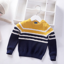 Baby Boy Sweater 2019 Autumn Cotton Knit Pullover for Boys Casual Children Clothes Toddler
