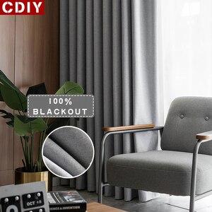 CDIY 100% Blackout Curtains fo