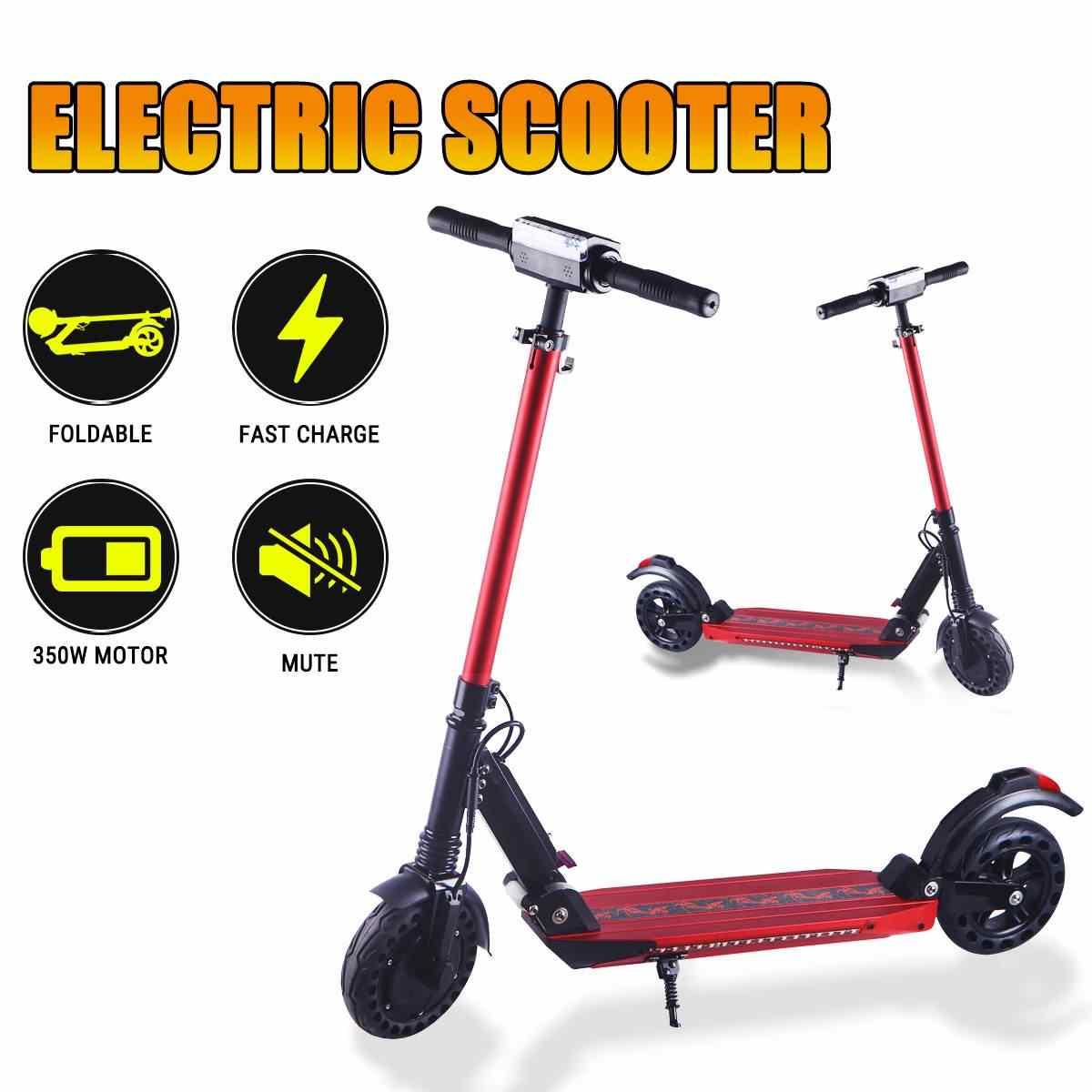 350W Scooter elettrico per adulti Scooter elettrici calcio Scooter K1/K2/K3 36V Mini pieghevole portatile e-scooter bici elettrica bicicletta