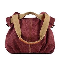 2020 nouvelle offre spéciale femmes dames décontracté Vintage Hobo sac toile quotidien sac à main poignée supérieure épaule fourre-tout Shopper sac à main bleu/noir