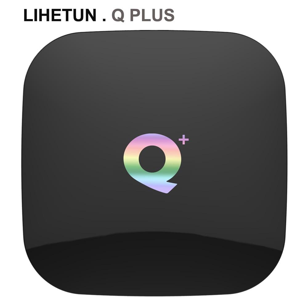 Q Plus Smart Android 9.0 TV Box 4GB Ram 32GB 64GB Rom 6K H.265 USB3.0 Netflix Allwinner H6 PK Set Top Box HK1 H96 Max