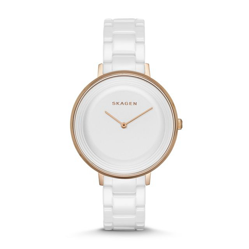 SKAGEN Ditte White Dial White Ceramic Ladies Watch Casual Dress Womens Watches Top Brand Montre Femme 2019 - SKW2316