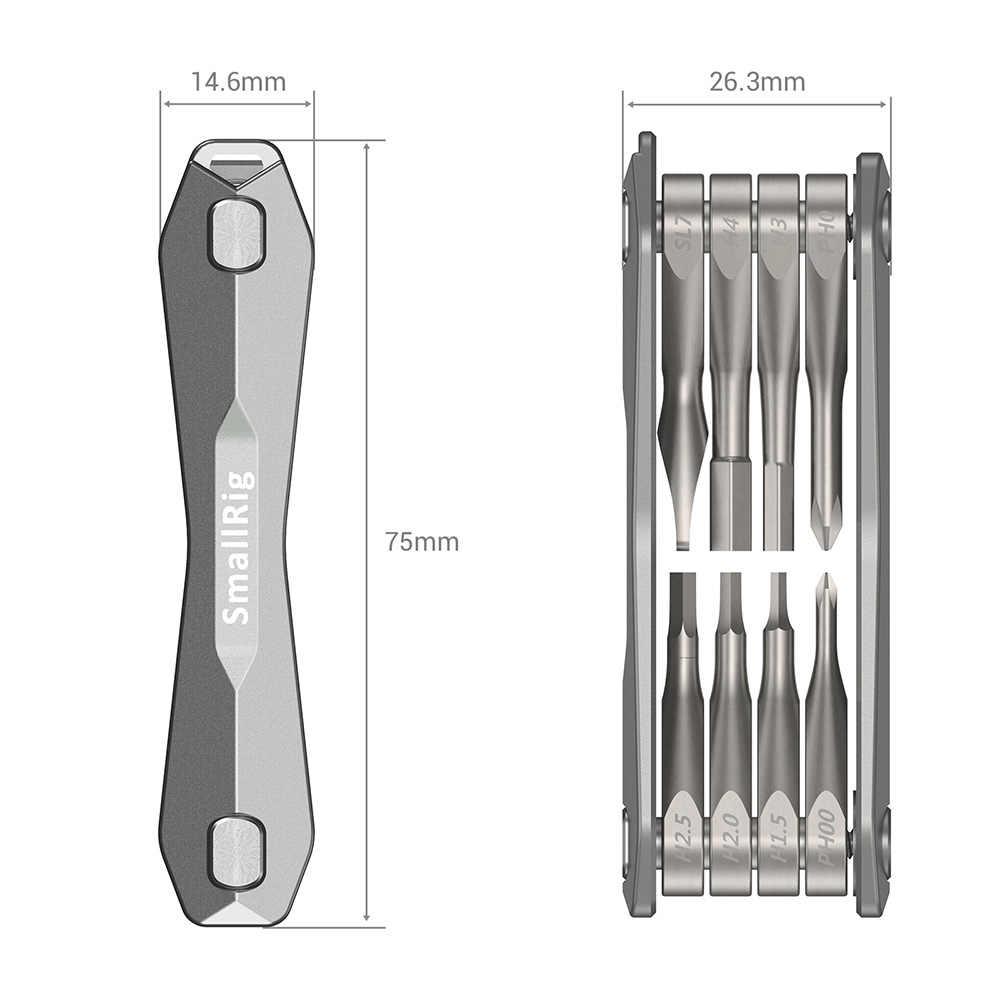 Smallrig Multi-Tool Voor Camera En Gimbal Accessoires Vouwen Schroevendraaier Set Met Allen Sleutels/Phillips Hoofd Screwdrives-2432