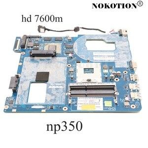 Image 1 - NOKOTION QCLA4 LA 8861P BA59 03397A для Samsung NP350 NP350V5C 350V5X материнская плата для ноутбука HD4000 HD7600M основная плата полностью протестирована