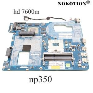 Image 1 - NOKOTION QCLA4 LA 8861P BA59 03397A para Samsung NP350 NP350V5C 350V5X placa base de computadora portátil HD4000 HD7600M placa principal de la prueba