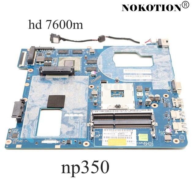 NOKOTION QCLA4 LA 8861P BA59 03397A para Samsung NP350 NP350V5C 350V5X placa base de computadora portátil HD4000 HD7600M placa principal de la prueba