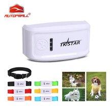 Tkstar pet tracker tk909 à prova drealágua em tempo real rastreamento localizador cão animal localizador gato gps geofence vida livre