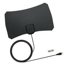 HD Digitale Indoor TV HDTV Antenne Für VHF UHF DVB ATSC Signal Mit Konverter