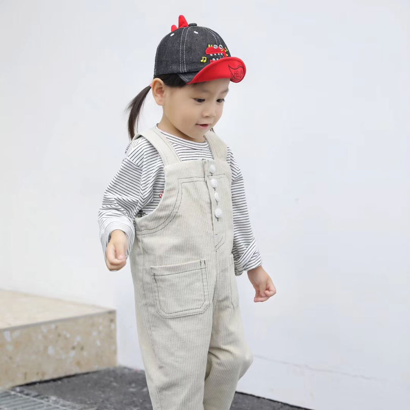 H6f85e6e19fdd4e5a9bbc5ead946a82d2n - Spring Autumn Baby Baseball Cap Cartoon Dinosaur Baby Boys Caps Fashion Toddler Infant Hat Children Kids Baseball Cap