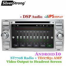 Silverstrong Android10.0 Auto Dvd Voor Ford Focus 1 Transit Galaxy 2Din Dvd Met Carplay Android Auto Tpms Optie(Hong Kong,China)
