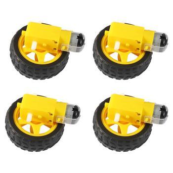 цена на TT Motor Smart Car Robot Gear Motor for arduino Diy Kit Wheels Smart Car Chassis Motor Robot Remote Control Car DC Gear Motor