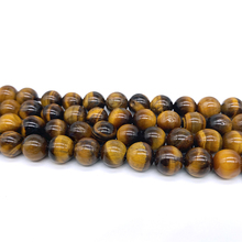цена Free Shipping Natural Stone AB+ Yellow Tiger Eye Beads Class Round Beads 15