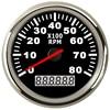 8K Boat Tachometer Marine Tacho Meter Gauge LCD Hourmeter 12V 24V 8000 RPM 85mm Car Tachometer Toerenteller discount