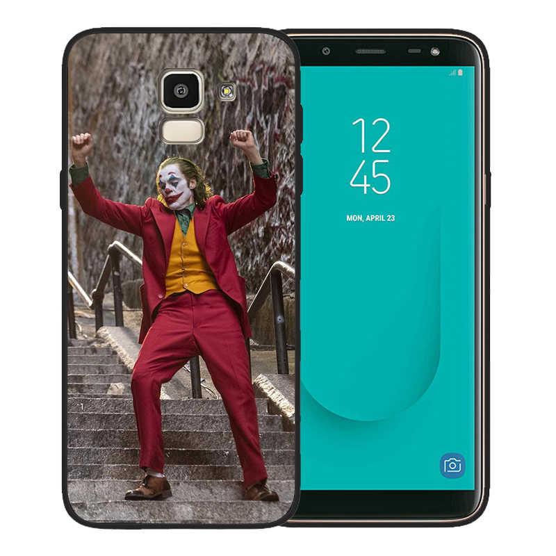 Luxe Joker 2019 Téléphone étui pour samsung Galaxy A7 2018 A10 A20 A40 A50 A70 A6 A8 A5 Note 9 Cas 8 10 M10 M20 Silicone Coque