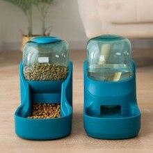 Pet-Supplies Feeding-Bowl Food-Dispenser Puppy Automatic-Feeder Water-Drinker Dog Cat