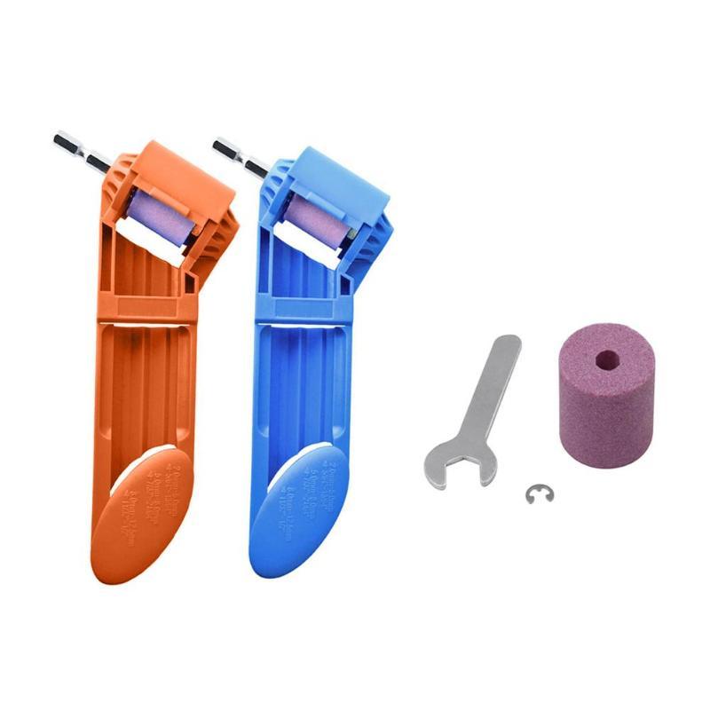 2-12.5mm Drill Bit Sharpener Corundum Grinding Wheel Portable Powered Tool Portable Powered Tool For Drill Polishing Wheel Drill
