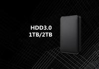 Portable External Hard Drive USB 3.0 1TB 2TB HDD External Hard Disk HD for Laptop/Mac