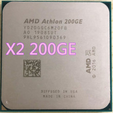 AMD Athlon 200GE X2 200GE 3.2GHz double-cœur Quad-Thread processeur d'unité centrale YD200GC6M2OFB YD20GGC6M20FB Socket AM4