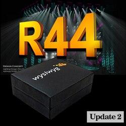 WYSIWYG, lanzamiento 44, luz de DJ MA2, Mando de comando wing, cabezal móvil dmx, controlador WYSIWYG R44, llave electrónica de rendimiento