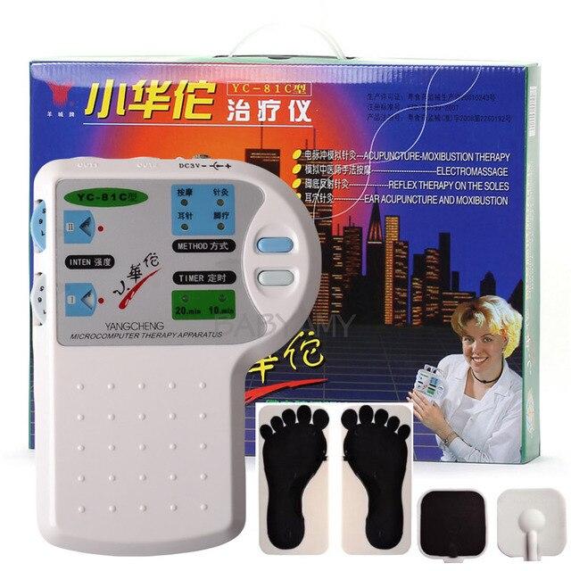 الحواسيب الصغيرة العلاجية جهاز تدليك التحفيز الكهربائي الوخز بالإبر العلاج الاسترخاء الرعاية الصحية للقدم الأذن العناية بالجسم