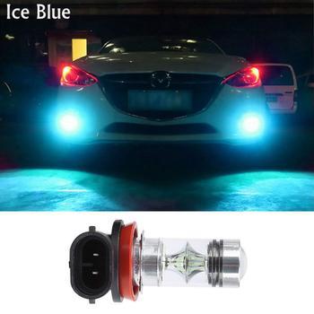 Super Brilhante H11 LED Luzes de Nevoeiro 2000 Lumens LED H11 Azul H11 H11 LED Lampada H11LL H8 H16 H11 Nevoeiro Luzes Lampadas