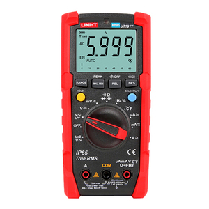 UNI-T Tester Digital Multimeter Profesional UT191T UT191E True RMS Auto Range DMM 20A Ammeter 600V Count 6000 DC AC Capacitor(China)
