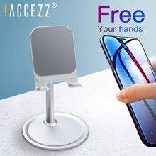 !ACCEZZ Mobile Phone Holder Stand For iPhone Samsung Xiaomi LG Tablet Desktop Flexible Adjustable Bracket Universal Mount