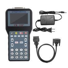 Ck100 programador chave CK 100 v99.99/46.02/mini zed touro obd2 ferramenta de diagnóstico leitor de falha do carro scanner de código automático nenhum tokens limitado