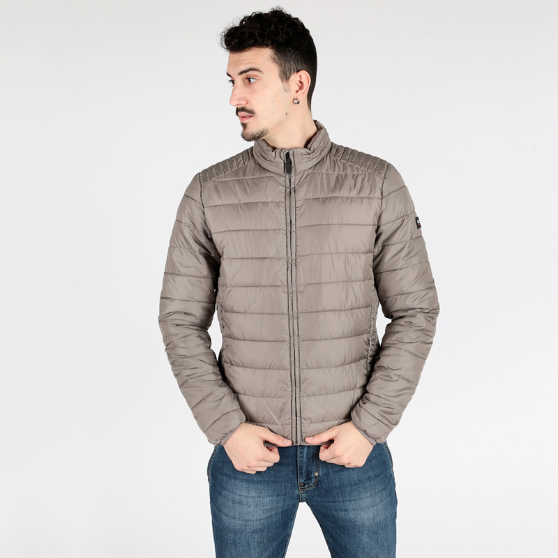 X-cape Jacket Gray Quilted