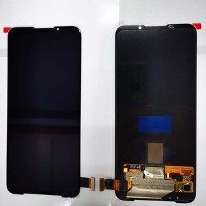 "Image 3 - 6.67"" AMOLED Original New For Xiaomi BlackShark 3 LCD Display Screen+Touch Panel Digitizer With Fingerprint For Black Shark 3"