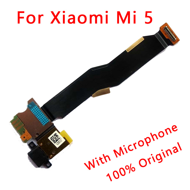 For Xiaomi Mi 5 Original Flex Port For Mi5 Spare Parts For Mi5 Usb Plug Board Charging Port Connector