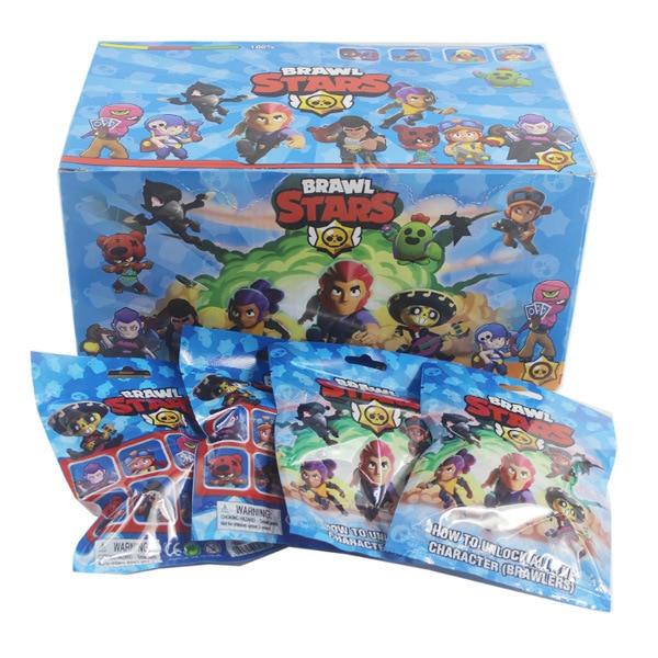 Toys Figures Card Game Crow Shelly Mortis Brock Jessie El-Primo Brawl-Stars with Kids