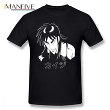 New Designing Mens T-shirt Kaiji Anime Death Note Short Sleeved Cotton O-neck Oversize T Shirt For Man Tshirt