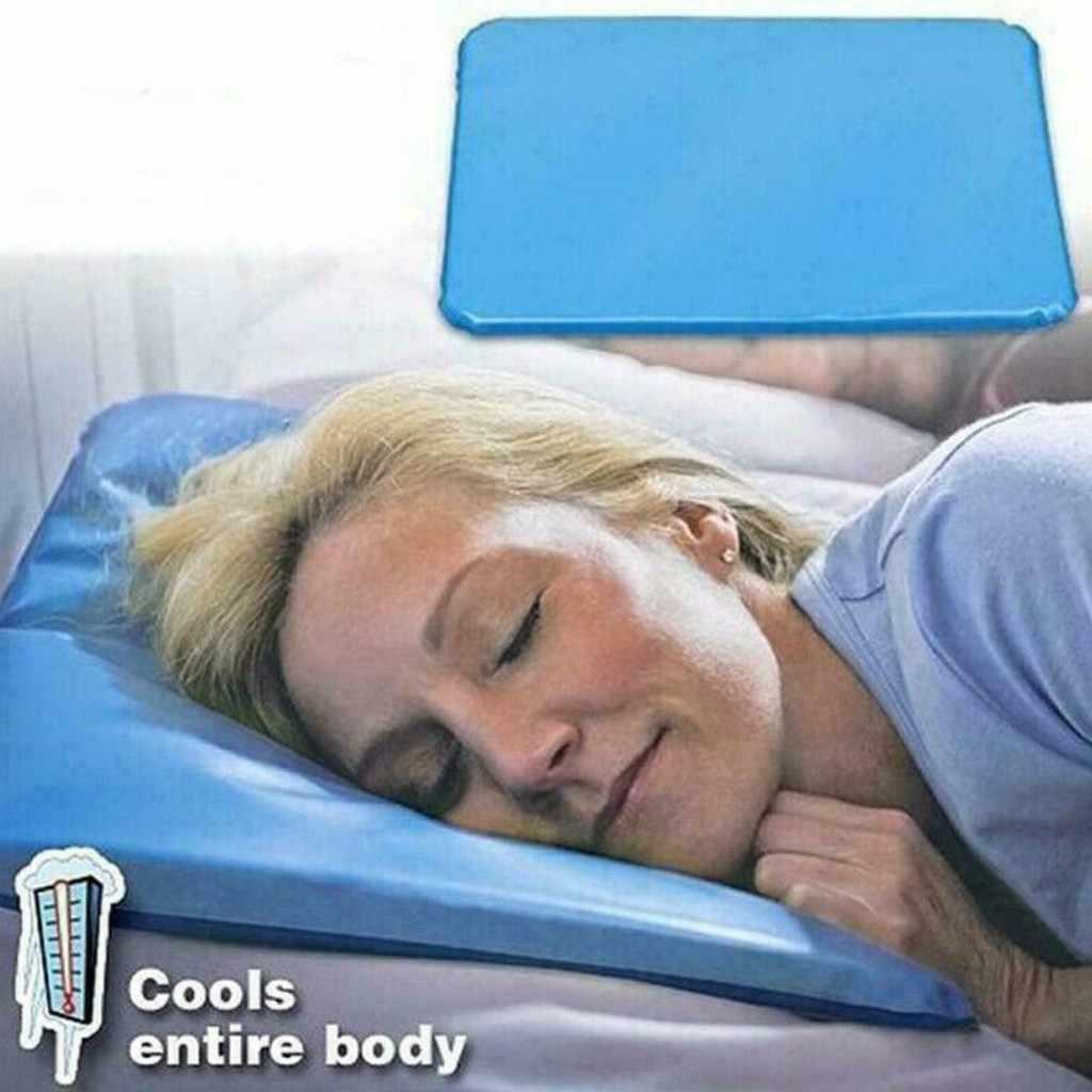 Tapis de couchage rafraîchissant, Gel anti-Muscle, pour lit, Stress, pour l'été, oreiller naturel