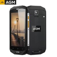NEW AGM Original A8 5 inch 4G+64G NFC OTG Smartphone Android 7.1 Mobile Phone 2SIM IP68 Rugged Phone Quad Core 13.0MP 4050mAh