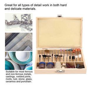 Image 2 - 100 sztuk/zestaw biżuteria DIY Carving szlifowanie polerowanie zestaw narzędzi złotnik Metal wykończenie proces naprawy akcesoria narzędziowe dla jubiler