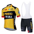 2020 Новинка JUMBO VISMA велосипедная команда Джерси 20D велосипедные шорты костюм Ropa Ciclismo мужские летние PRO велосипедные Майо брюки одежда