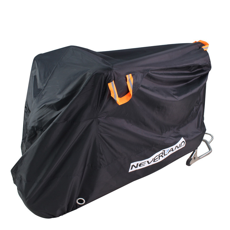 210D High Quality Waterproof Outdoor Motorcycle Moto Cover Electric Bicycle Covers Motor Rain Coat Dust Suitable For All Motors